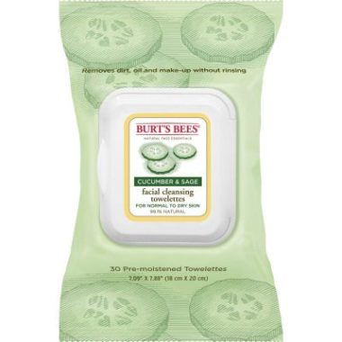 Facial Cleansing Towelettes with Cucumber & Sage