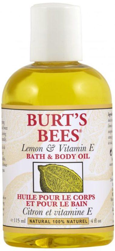 Lemon & Vitamin E Bath & Body Oil